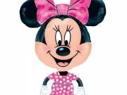 Folienballon, Airwalker, Minnie Mouse