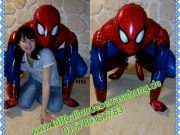 Spiderman Airwalker, Folienballon, ca. 91 cm