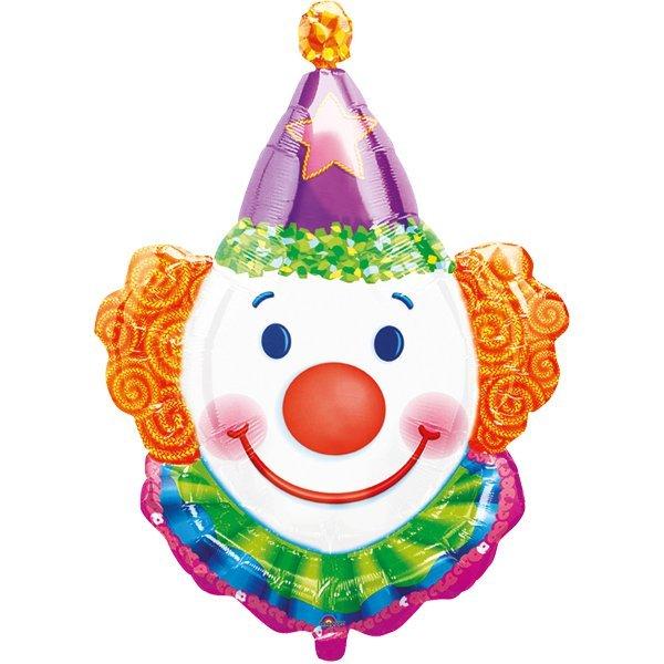 Fasching Clown Luftballonuberraschung