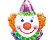 """Folienballon """"Karneval Clown"""""""