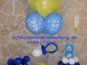 Dekoration und Geschenke aus Luftballons