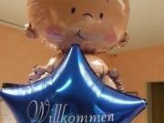 2 Stück Folienballons mit Aufschrift nach Ihrer Wahl