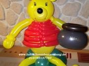 Winnie Puuh aus Luftballon