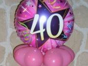 Geldverpackung im Luftballon