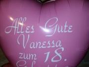 Folienballon mit Aufschrift nach Ihrer Wahl