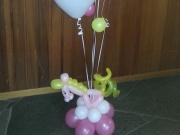Dekoration mit Heliumballons
