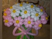 Blumenstrauß aus 29 Stück Blumen