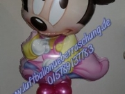 Minnie Mouse Baby Dekoration mit Name
