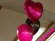 Tischdekoration aus Luftballons