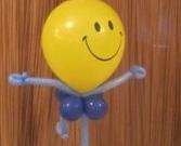 Ballondekoration zum Kindergeburtstag