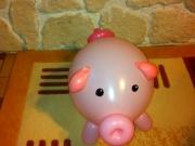 Glückschwein mit Geld darin