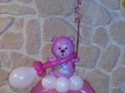Geschenkballon für die Taufe