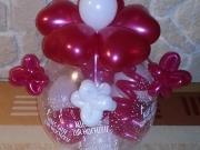 Geschenk im Luftballon