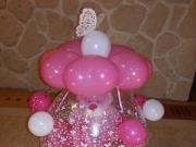 Luftballon Geschenk mit Schmetterling