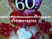 Geschenkballon zum 60. Geburtstag