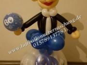 Geschenkballon für Geburtstag