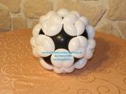 Fußball aus Luftballons