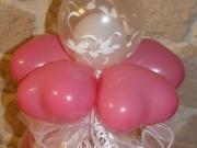 Hochzeitgeschenk in einem Luftballon