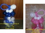 Geschenkballon für Neugeborene oder Taufe