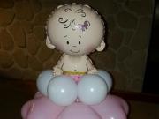 Geschenkballon zur Geburt/Taufe