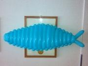 Fisch aus Luftballons