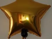 Folienballon mit Helium in Sternform