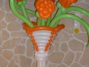 Säule/Vase aus Luftballons