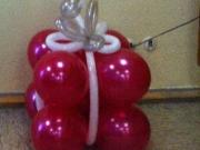 Geschenk aus Luftballons
