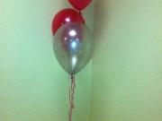 Tischdekoration mit Luftballons