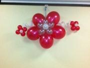 Wanddeko aus Luftballons