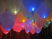 Heliumballons mit LED