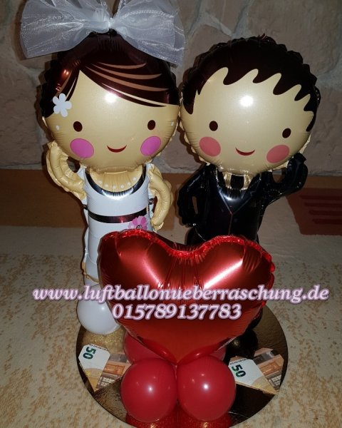 hochzeit und valentinstag luftballon berraschung. Black Bedroom Furniture Sets. Home Design Ideas