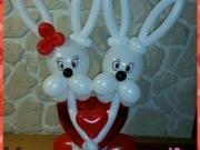 Verliebte Hasen, Geschenk zum Valentinstag