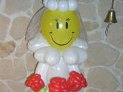 Braut aus Luftballons