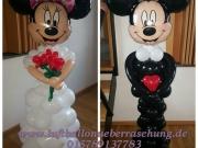 Brautpaar Micky und Minnie Mouse