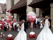 Hochzeitsüberraschung, Explosionsballon