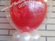 Deco Bubble Ballon mit Helium