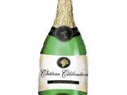 "Folienballon ""Champagnerflasche"""
