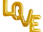 """Buchstaben """"LOVE"""", Folienballons"""