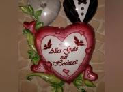 """Folienballons """"Traumhochzeit"""",""""Brautpaar"""""""