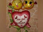 """Folienballons """"Traumhochzeit"""", """"Smiley Liebespaar"""""""