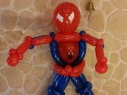 Spiderman aus Luftballons