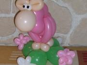 Schaf aus Luftballons