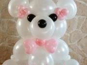 Bär aus Luftballons