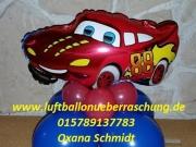 "Folienballon ""Cars"", ""Rennauto"""