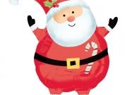"""Folienballon """"Glücklicher Weihnachtsmann"""""""