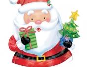 """Folienballon """"Weihnachten, Weihnachtsmann"""""""
