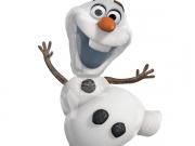 "Folienballon ""Frozen, Olaf Schneemann"""