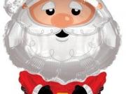 """Folienballon """"Weihnachtsmann"""""""