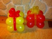 Geschenke aus Luftballons
